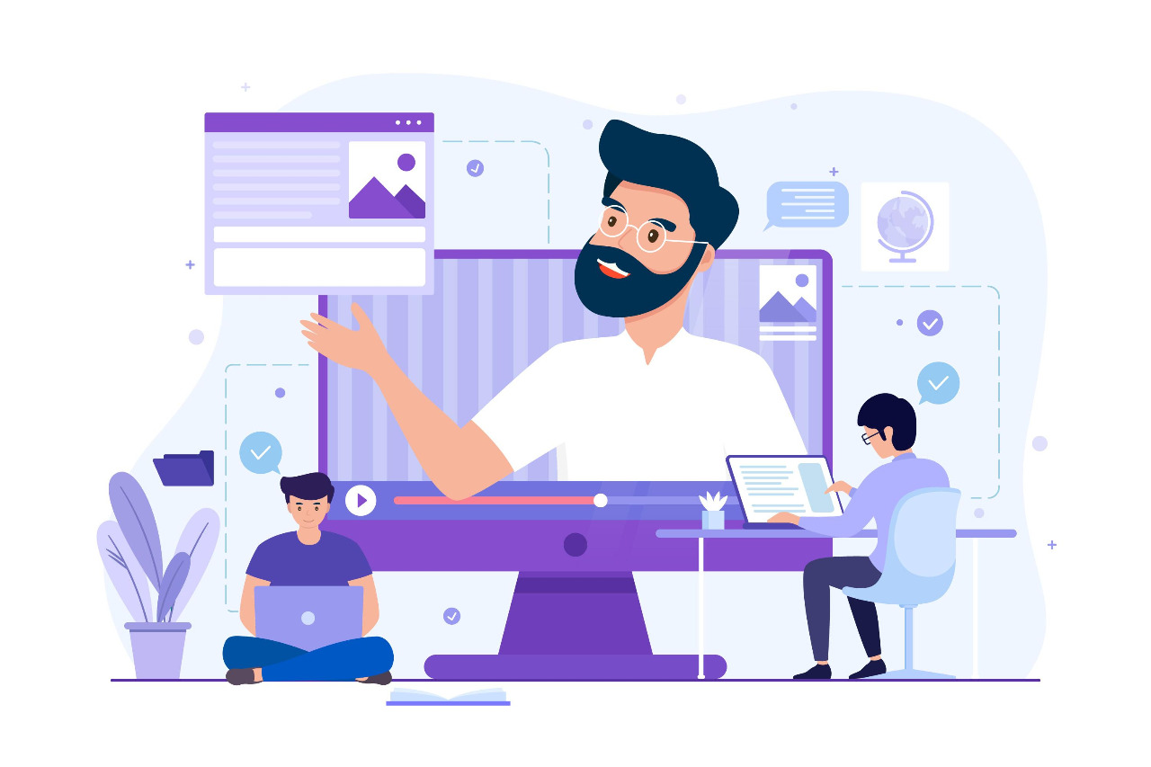 vector-image-showing-people-working-on-web