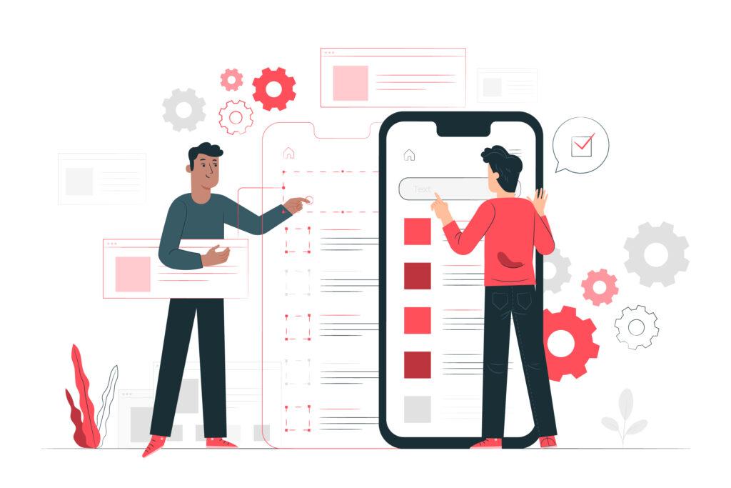 person-using-virtual-user-interface