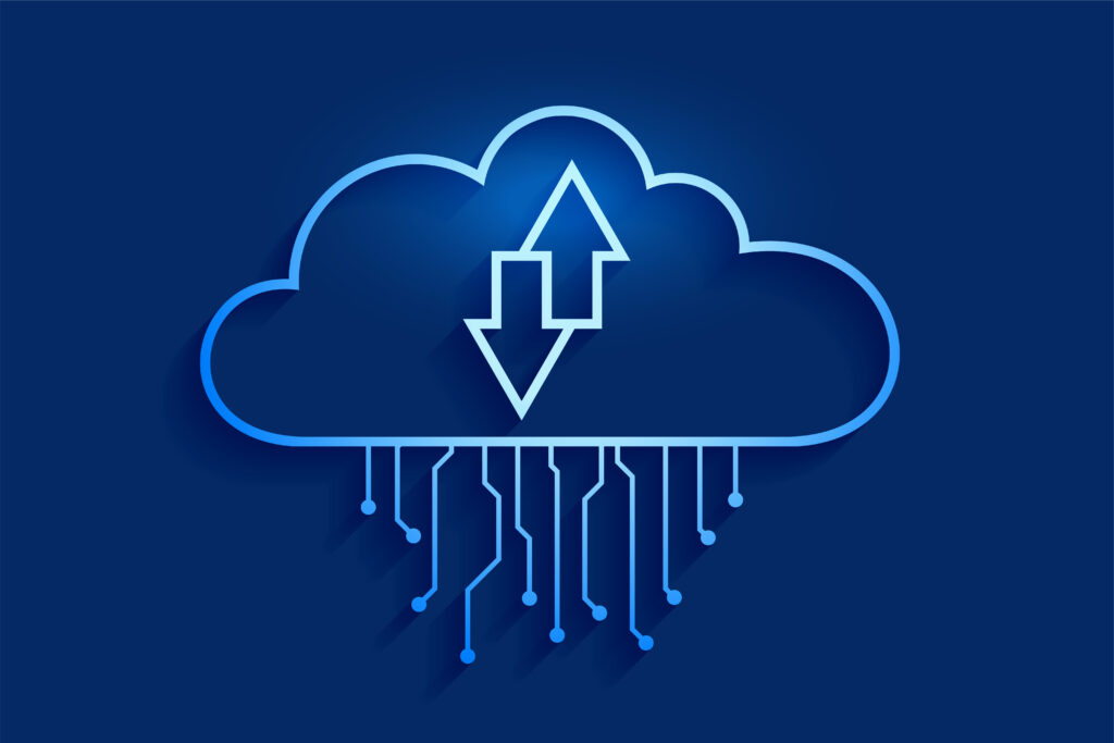 cloud-computing-data-streaming-concept