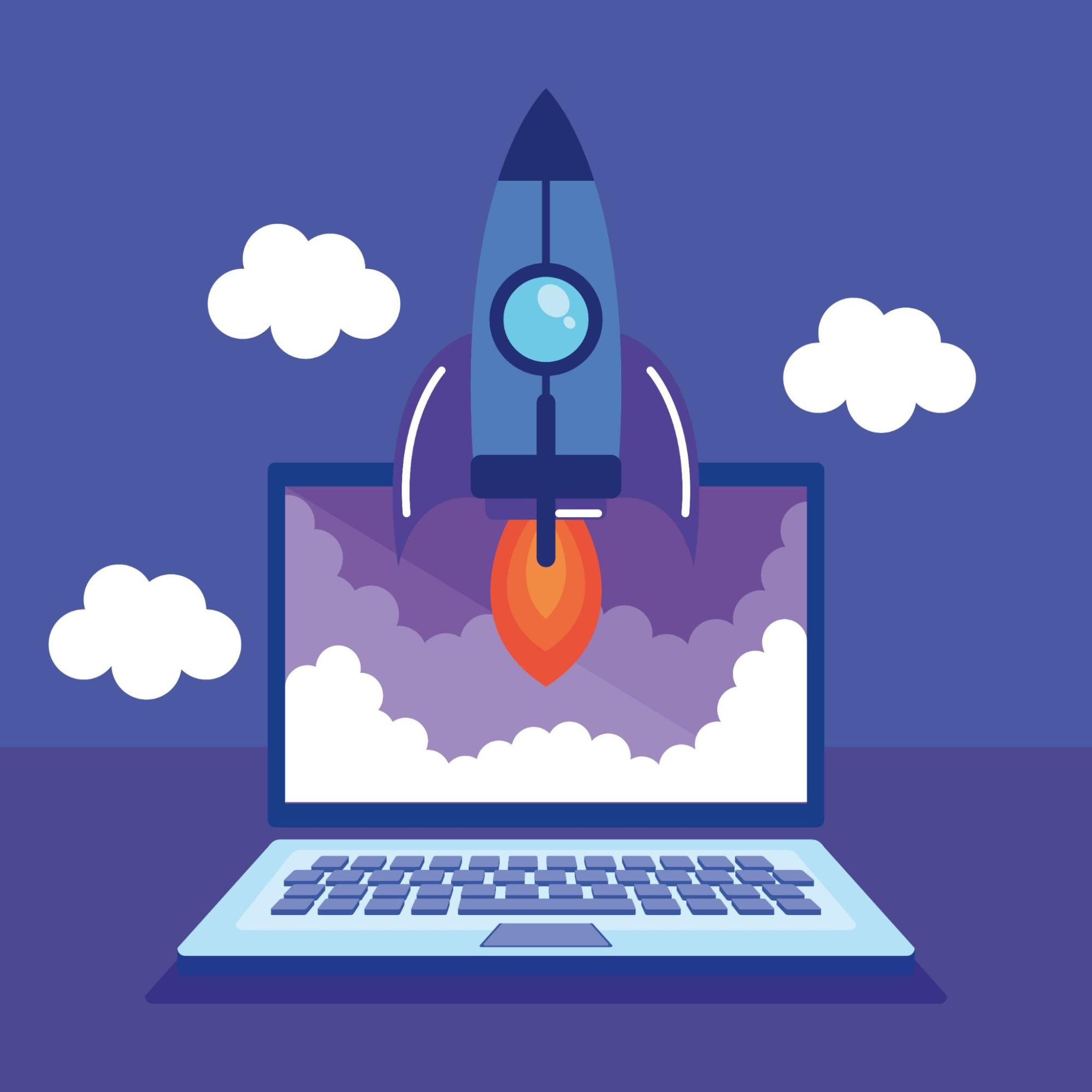 rocket-launching-from-laptop-vector