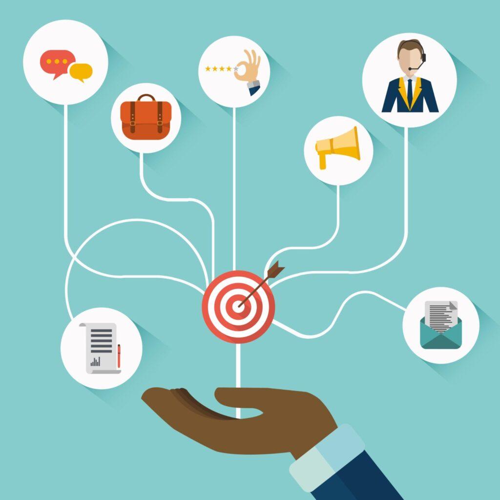 customer-service-aspects-illustration